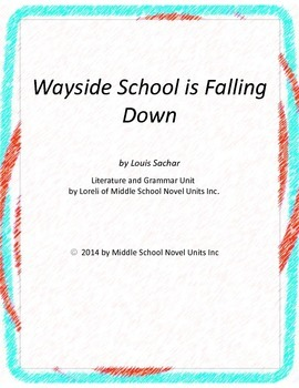 Wayside School is Falling Down Unit with Literary and Gram
