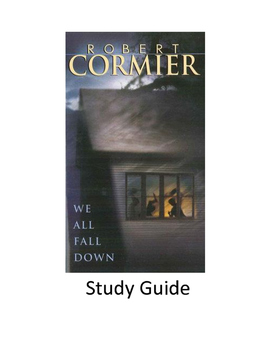 We All Fall Down by Robert Cormier - Study Guide