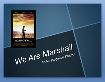 Movie Investigation Project (We Are Marshall)