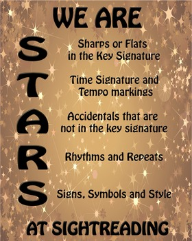We Are STARS At Sightreading!