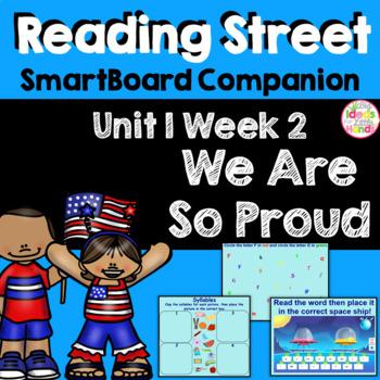 We Are So Proud SmartBoard Companion Kindergarten