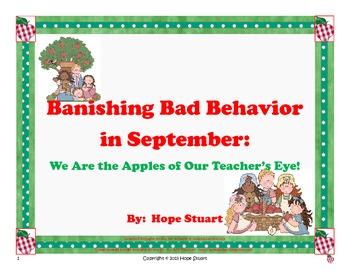 Banishing Bad Behavior in September: We Are the Apples of