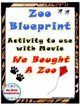 We Bought A Zoo Blueprint Activity - Perimeter, Circumfere