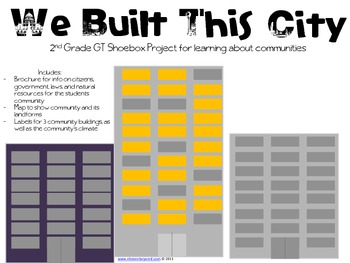 We Built This City - Building a Community Project