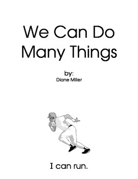 We Can Do Many Things Sight Words / Simple Phonics Mini Book