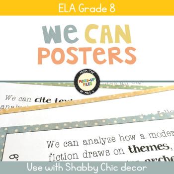 We Can Statements ELA Grade 8