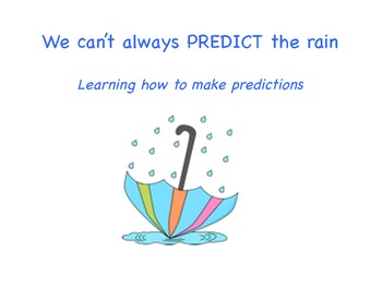 We Can't Always PREDICT The Weather
