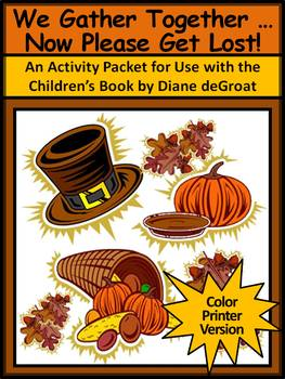 Thanksgiving Reading Activities: We Gather Together,Activi
