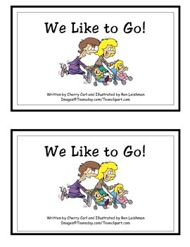 We Like to Go! Guided Reader (-ike Word Family)