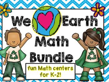 We Love Earth Math Bundle