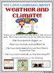 Weather and Climate Unit