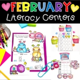 February Literacy Centers for Kindergarten
