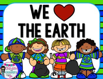 We Love The Earth!  An Earth day mini unit