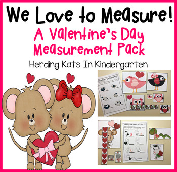 We Love to Measure! A Valentine Themed Common Core Aligned
