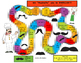 We Mustache You to EXERCISE! Mini Game Board