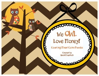 We Owl Love Money Mixed Coin Puzzles
