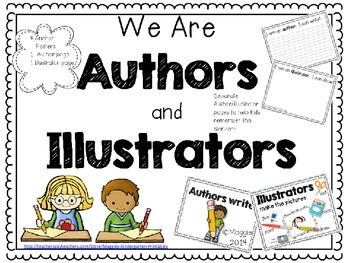We are Authors and Illustrators Writer's Workshop Anchor P