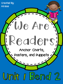 We are Readers! Anchor Charts and Posters 2