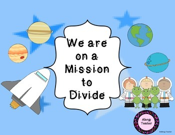 We are on a Mission to Divide Math Game