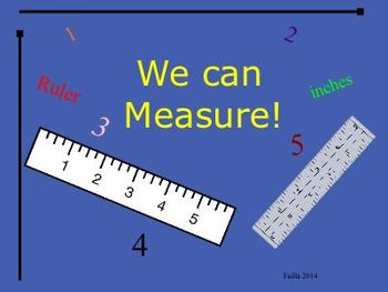 We can measure! for young students