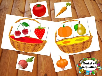 We gather fruits and vegetables