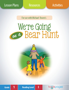 We're Going on a Bear Hunt Lesson Plans & Activities Packa