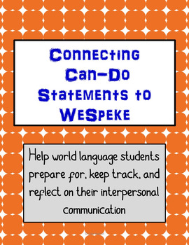 WeSpeke: Guide Your Students with Can-Do Statements