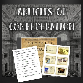 Weaknesses of the Articles of Confederation & Shay's Rebellion