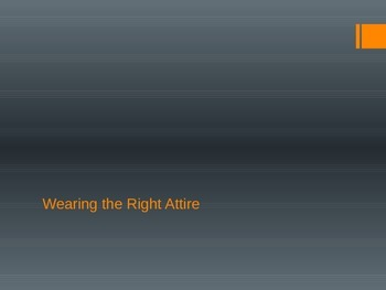 Wearing the Right Attire-Social Skills