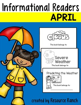 Weather Guided Reading Trio
