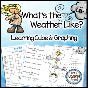 Weather, Math Activities, Graphing Activities, Poetry Sear