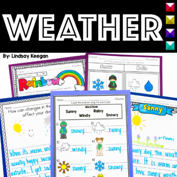 Weather Unit for Primary Students
