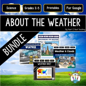 Weather - Erosion, Clouds, Weather Maps, Weather Instrumen