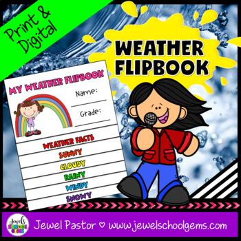 Weather Activities Flipbook