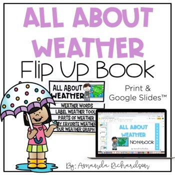 Weather Flip Up Book