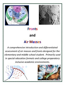 Weather: Air Masses and Fronts ALL GRADES Curriculum (Fore