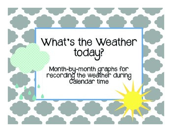 Weather Bar Graphs- in English!
