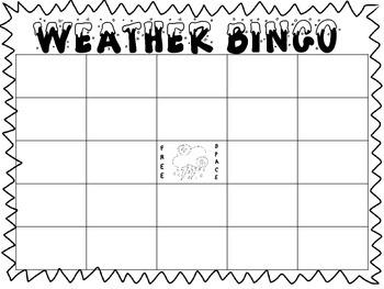 Weather Bingo!