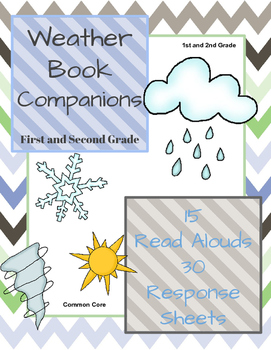 Weather Book Companions: 15 Stories with 30 Response Sheets