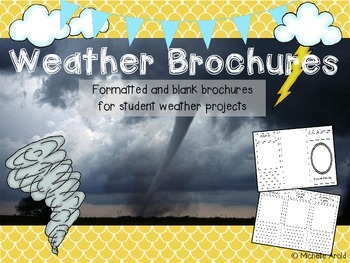 Weather Brochures