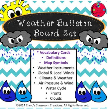 Weather Bulletin Board/Review Game