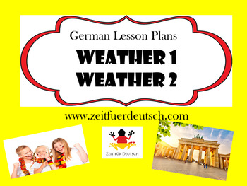 Weather Bundle. German Lesson Plans and Resources