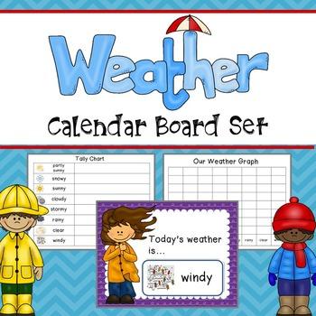 Weather Calendar Set