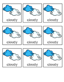 Weather Cards for Graph
