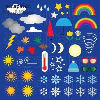 Clipart: Weather Clip Art