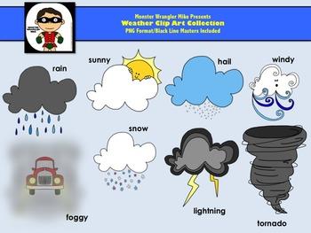 Weather Clipart Set