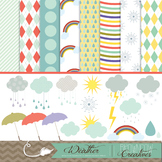 Weather Clipart and Backgrounds!