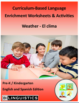 Weather - Curriculum‐Based Language Enrichment Worksheets