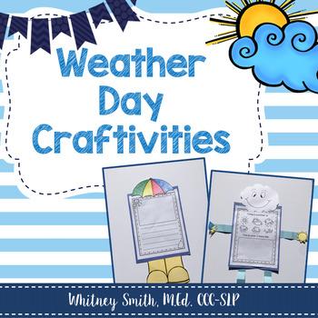 Weather Day Craftivity