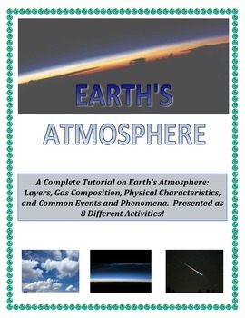 Weather:  Earth's Atmosphere Composition and Layers (GREAT